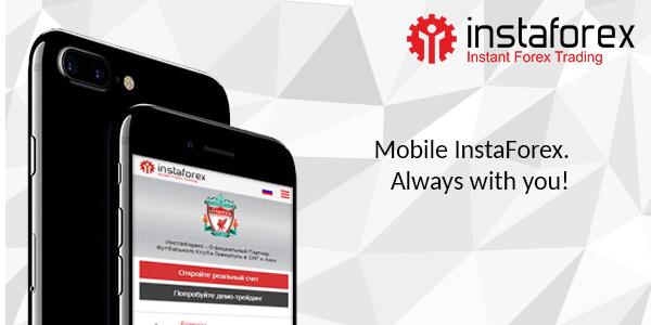 Mobile version InstaForex