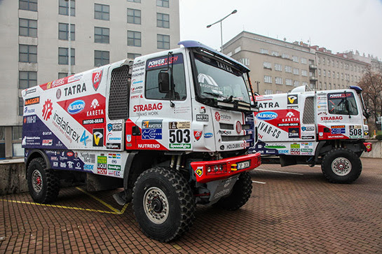 Dakar 2017. Press conference in Prague