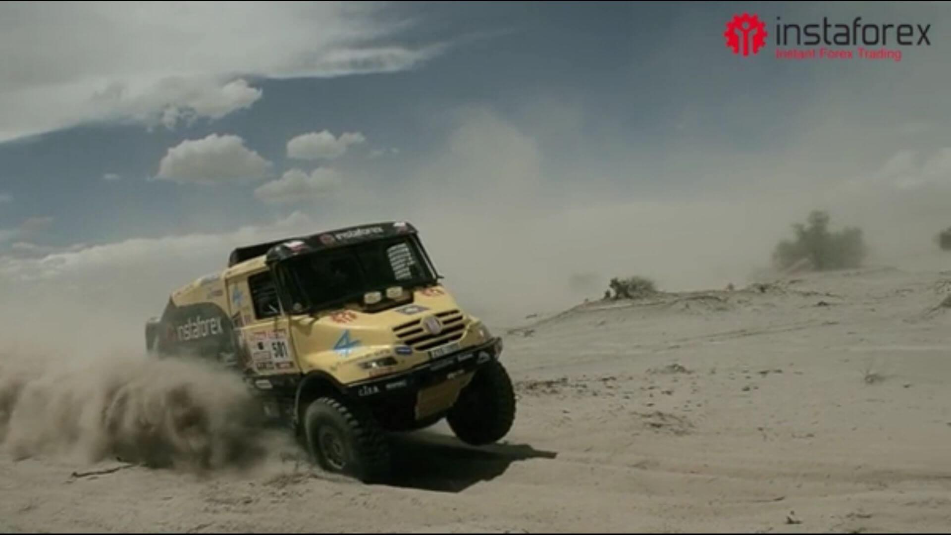 Entrevista dada por Ales Loprais durante o Dakar 2012