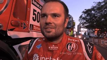 Dakar 2014. Ales Loprais