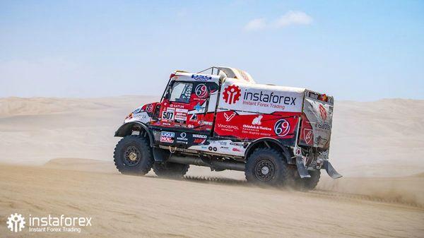 Алеш Лопрайс занимает пятое место в ралли «Дакар» 2019