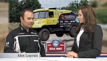 การให้สัมภาษณ์ Ales Loprais