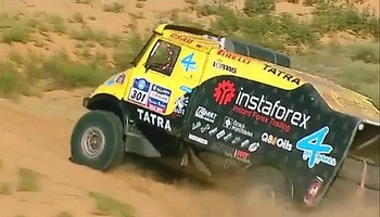 Off-road InstaForex racing