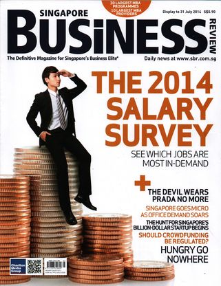 Журнал Singapore Business Review (Липень, 2014)