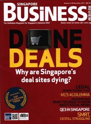 Business Magazine Singapore, November 2012