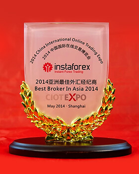 Лучший брокер Азии 2014 по версии the China International Online Trading Expo (CIOT EXPO)