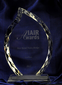 Best Retail Forex Broker 2012 by IAIR Awards