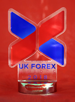 UK Forex Awards versiyasi bo`yicha Best Forex Cryptocurrency Trading Platform 2018