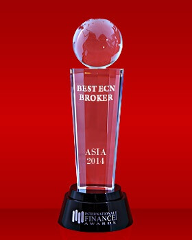 Best ECN Broker in Asia 2014 by International Finance Magazine