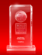 Melhor Broker do Norte da Ásia pela World Finance Awards 2013