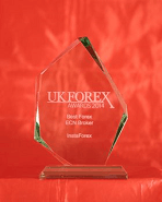 Best Forex ECN Broker 2014 โดยรางวัล  UK Forex Awards