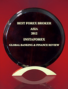 Miglior broker dell'Asia 2012 in base alla versione Global Banking & Finance Review