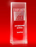 Der beste globale Retail-Broker 2013 laut European CEO Awards