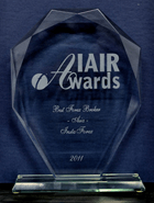 IAIR Awards 2011 - Best Broker in Asia