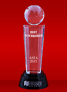 The Best ECN Broker 2015 dari International Finance Magazine