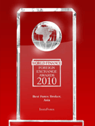 World Finance Awards 2010 - le meilleur courtier forex en Asie
