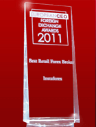 Anugerah CEO Eropah 2011 - The Best Retail Broker