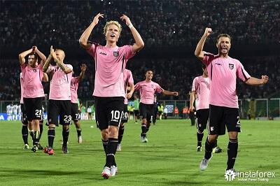 La compagnia InstaForex è stata il partner ufficiale della squadra di calcio del Palermo dal 2015 al 2017.
