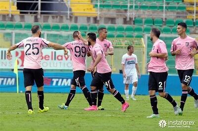 Компанія ІнстаФорекс була офіційним партнером футбольного клубу «Палермо» з 2015 по 2017 рік.