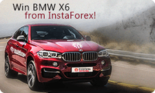 BMW X6 from InstaForex