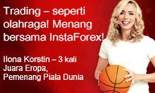 Ilona Korstin – kemenangan baru bersama InstaForex
