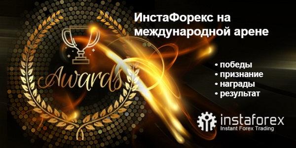 ИнстаФорекс: международные награды и признание
