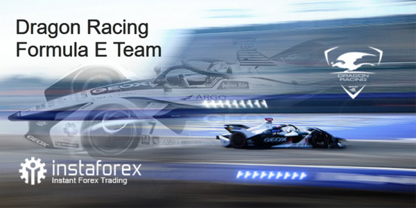 InstaForex - officiele partner van Dragon Racing