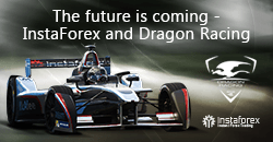 InstaForex - Parceiro oficial do Dragon Racing