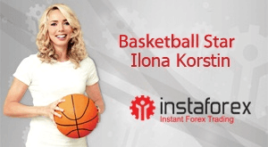 Ilona Korstin is the image of InstaForex Company