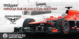 Достигай максимальных скоростей вместе с командой ИнстаФорекс и Marussia F1