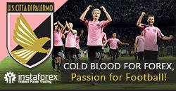 Palermo FC se stalo partnerem InstaForex