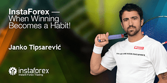 Uno dei più forti tennisti del mondo, Janko Tipsarevic, ora collabora con la compagnia InstaForex