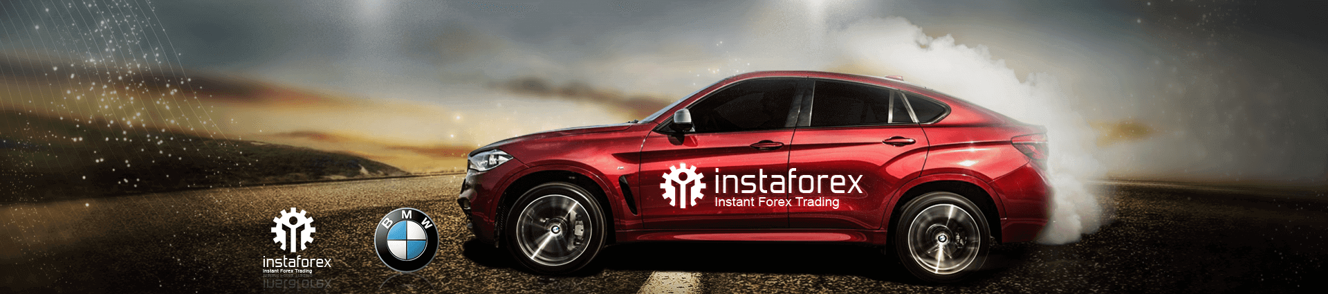 BMW X6 from InstaForex!