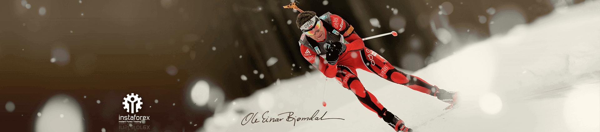 Ole Einar Bjorndalen, embajador de la marca InstaForex